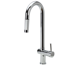 Full range of kitchen taps