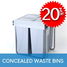 20% OFF Pull-Out Bins