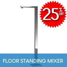 25% OFF Floor Standing Bath Mixer
