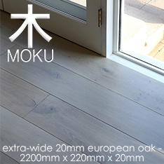 20mm Engineered Oak Floorboards