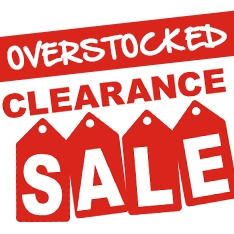 Overstocked Clearance Sale