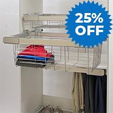 25% OFF Heuger Wardrobe Storage