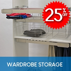 25% OFF Heuger Wardrobe Storage