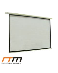 100 electric motorised projector screen tv with remote