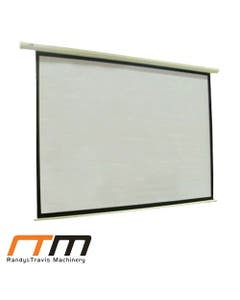"""120"""" electric motorised projector screen tv with remote"""