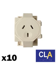 quick connect single surface socket