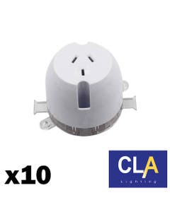rear connect single surface socket