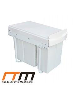 30L Slide Out Double Bin Kitchen Waste Storage