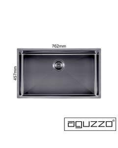 gunmetal grey luxurious deep kitchen sink