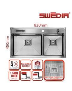 multifunction industrial stainless kitchen sink