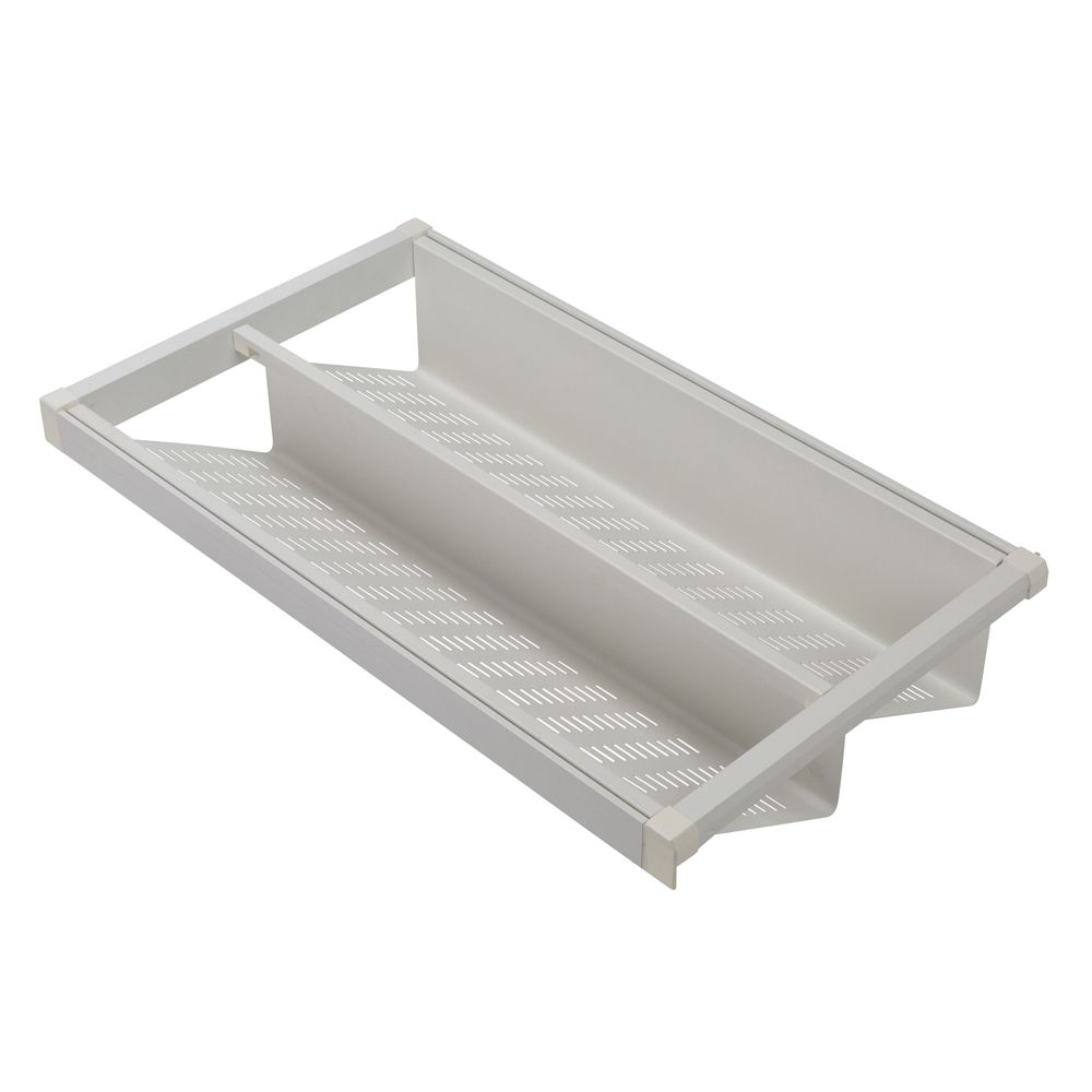 Heuger Pull Out Shoe Rack - for a 900mm Cabinet - White Colour