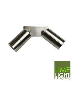 Sorrento Double Spot light 316 Stainless Steel