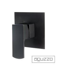 Aguzzo Terrus Shower Mixer - Wall Mounted - Matte Black