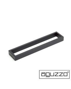 Aguzzo 350mm Matte Black-Stainless-Steel-Wide-Hand-Towel-Holder-Rail