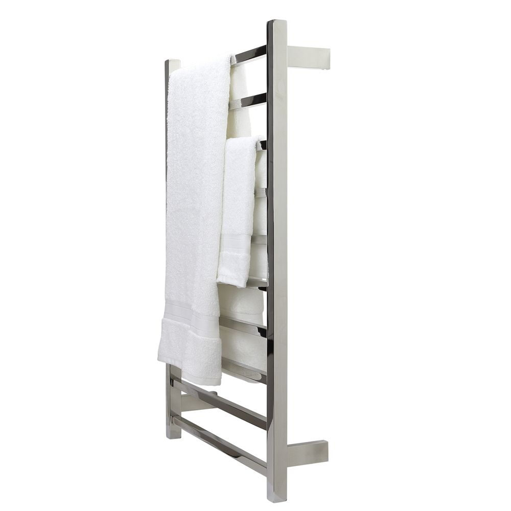S Shape Concealed Exposed Wiring Heated Towel Rail: Square Tube Heated Towel Rail Warmer Rack Ladder Stainless
