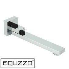 aguzzo new chrome swiveling bath spout - 2