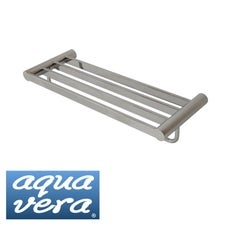 Pearl polished 620mm towel rack - stainless steel latest designer bathware