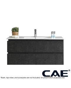CAE 1200mm Wall Hung Bath Vanity Gunmetal Finish