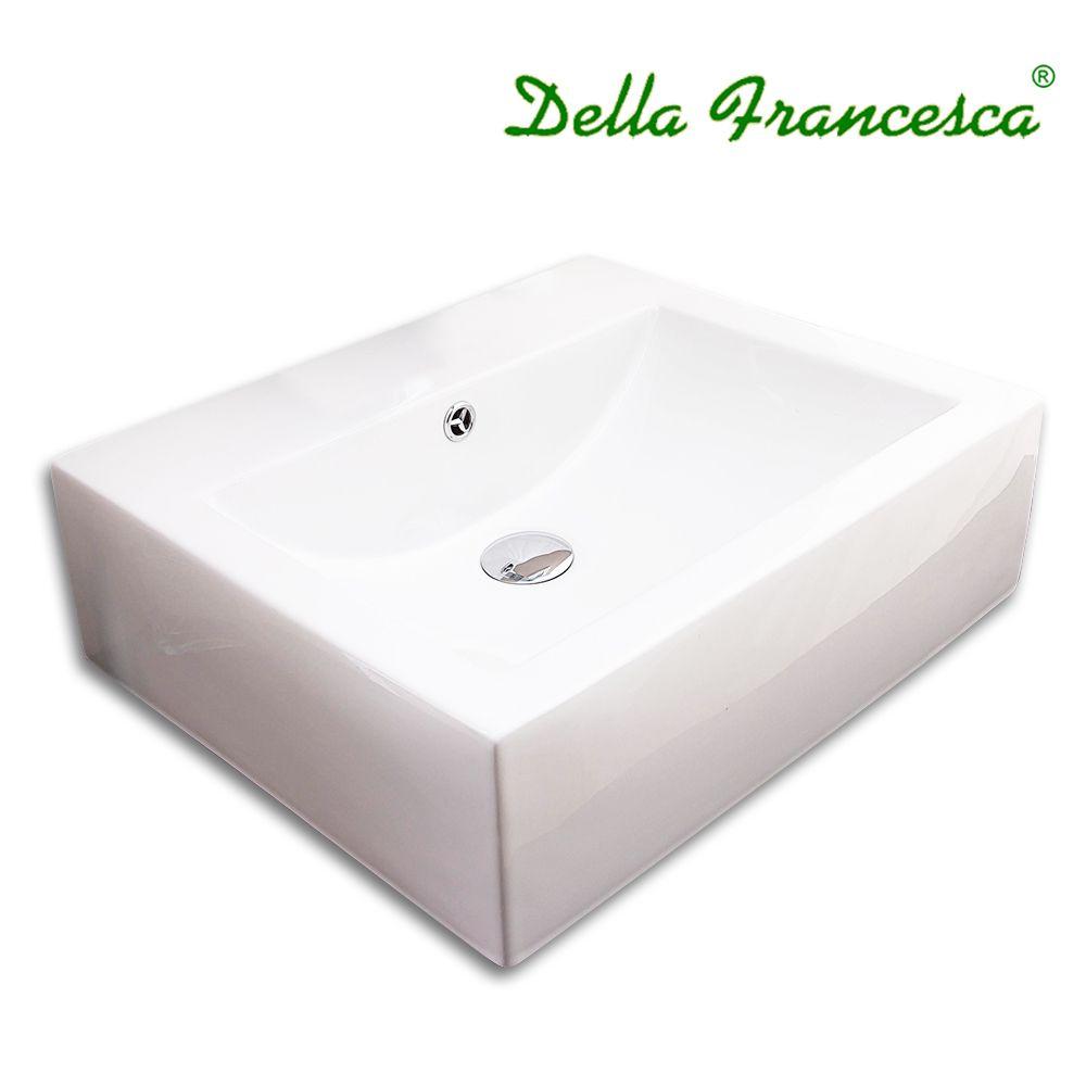 Bathroom Ceramic Basin - Rectangle