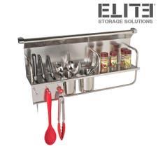 ELITE Kitchen Wall Storage Organiser Rack - 700mm