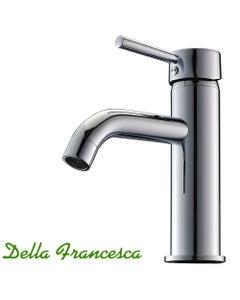 Bathroom basin mixer tap - chrome talll