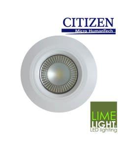 Weatherproof downlight for bathrooms or outdoor applications