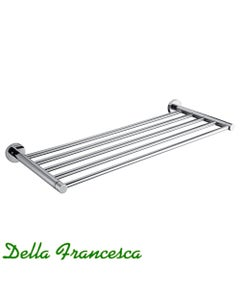 Della Francesca Stella Towel Rail Shelf
