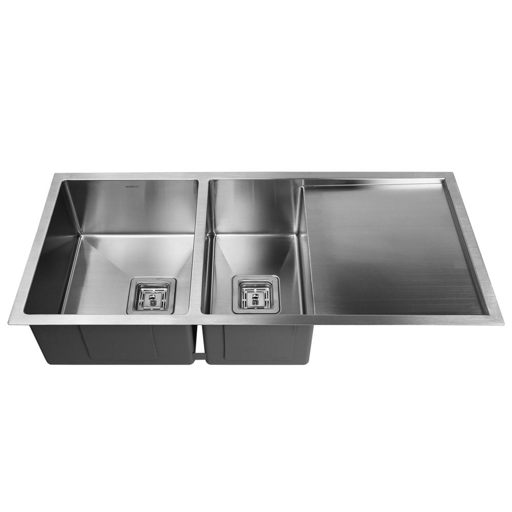 Clearance Sale - SWEDIA Dromma Stainless Steel Sink - 1000mm 1 1/2 Bowl with Drainer - 1.5mm Thick