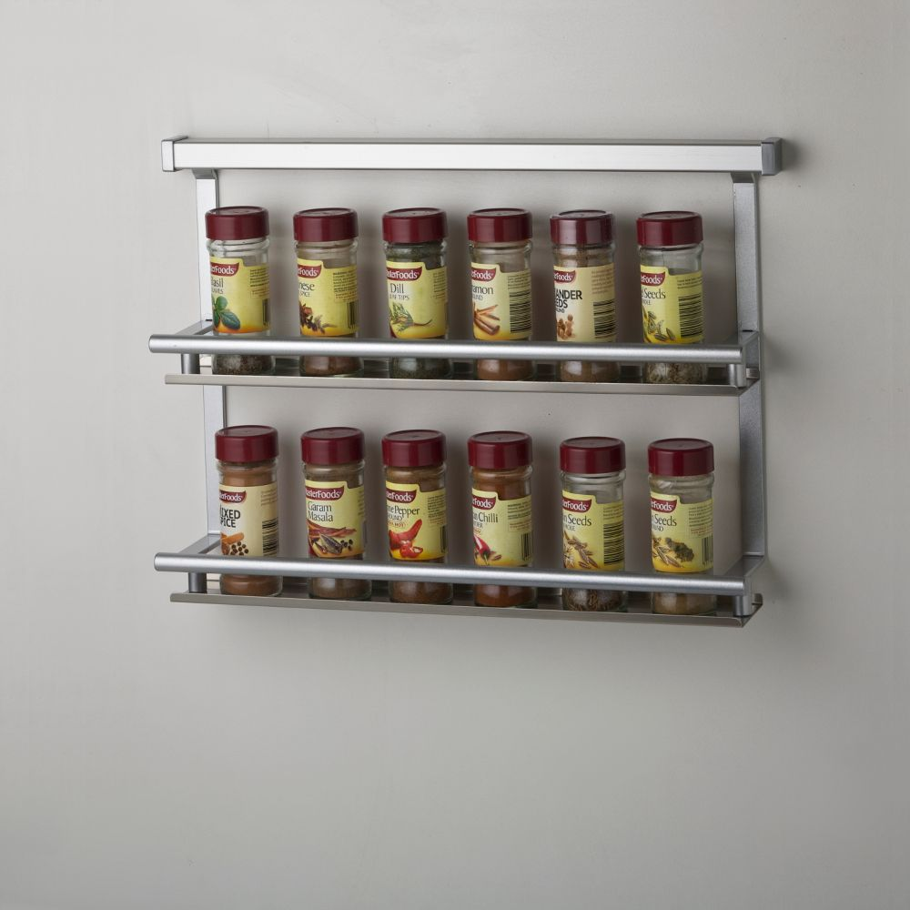 ELITE Butler - Kitchen Wall Storage - Spice Condiments Rack
