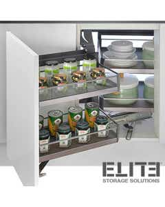 magic corner pull-out kitchen storage unit