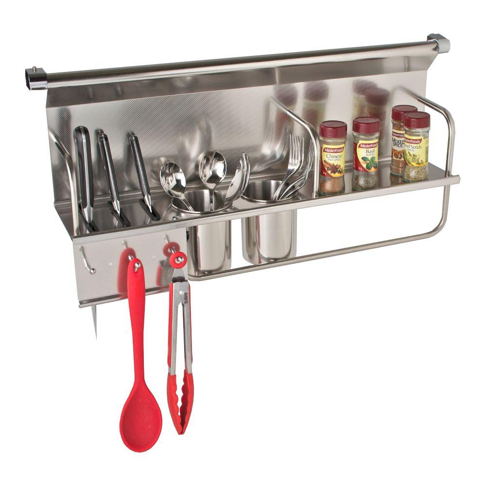 Chef Kitchen Wall Storage Organiser Rack - Chef Series - 700mm