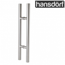 Pull handle - Round - Stainless Steel - 450mm