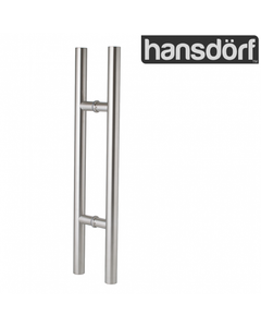 Pull handle - Round - Stainless Steel - 600mm