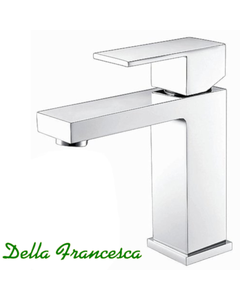 Della Francesca Essato Basin Mixer - Single Lever - Square 35mm