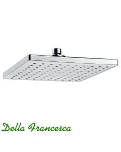 Della Francesca Fonte Square Rain Shower Head - 230mm