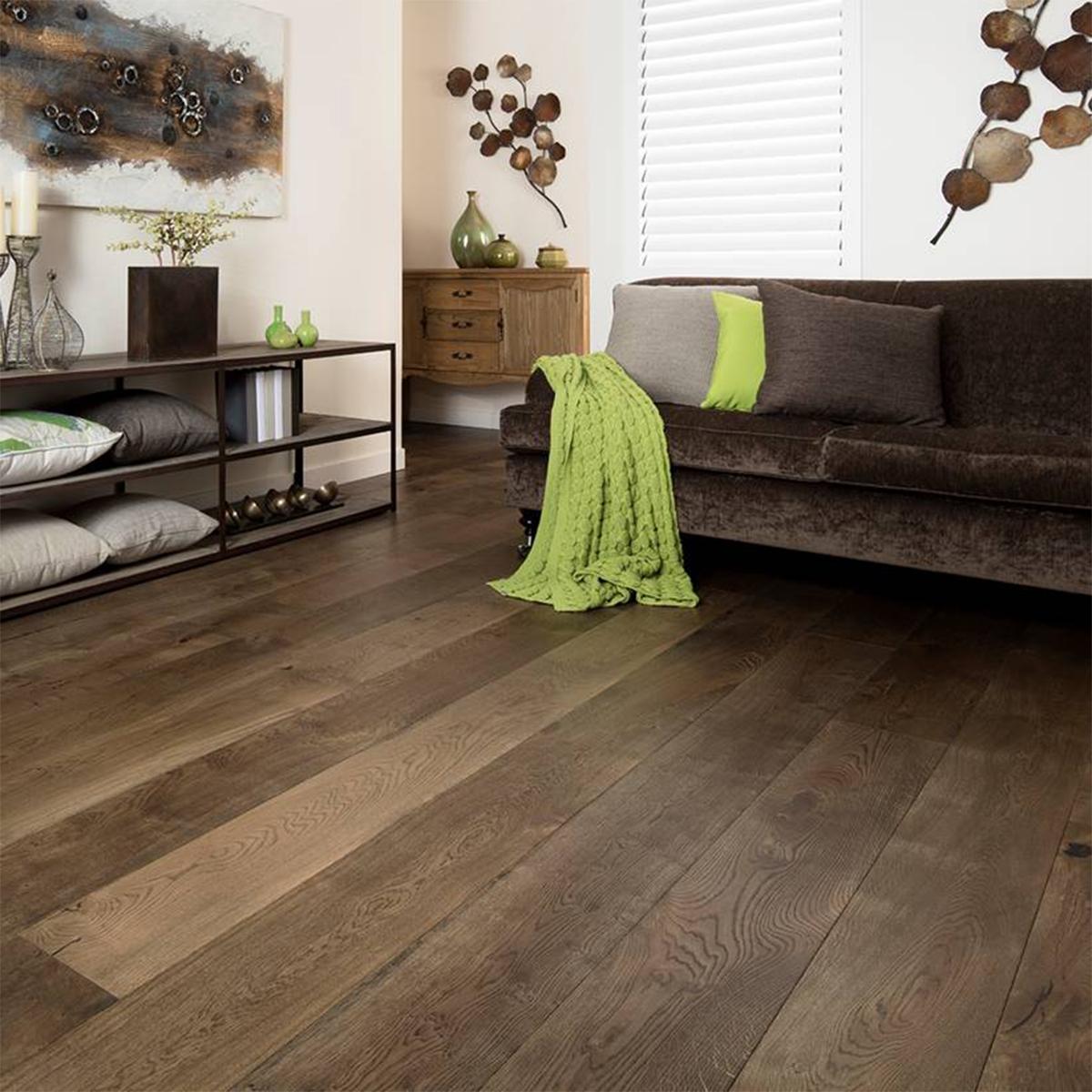 KIMI French Grey Oak - European Oak Engineered Floorboards - Extra-Wide 2200mm x 220mm x 20mm