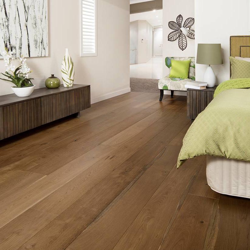 JIRO Trio Smoked Oak - European Oak Engineered Floorboards - Extra-Wide 2200mm x 220mm x 20mm