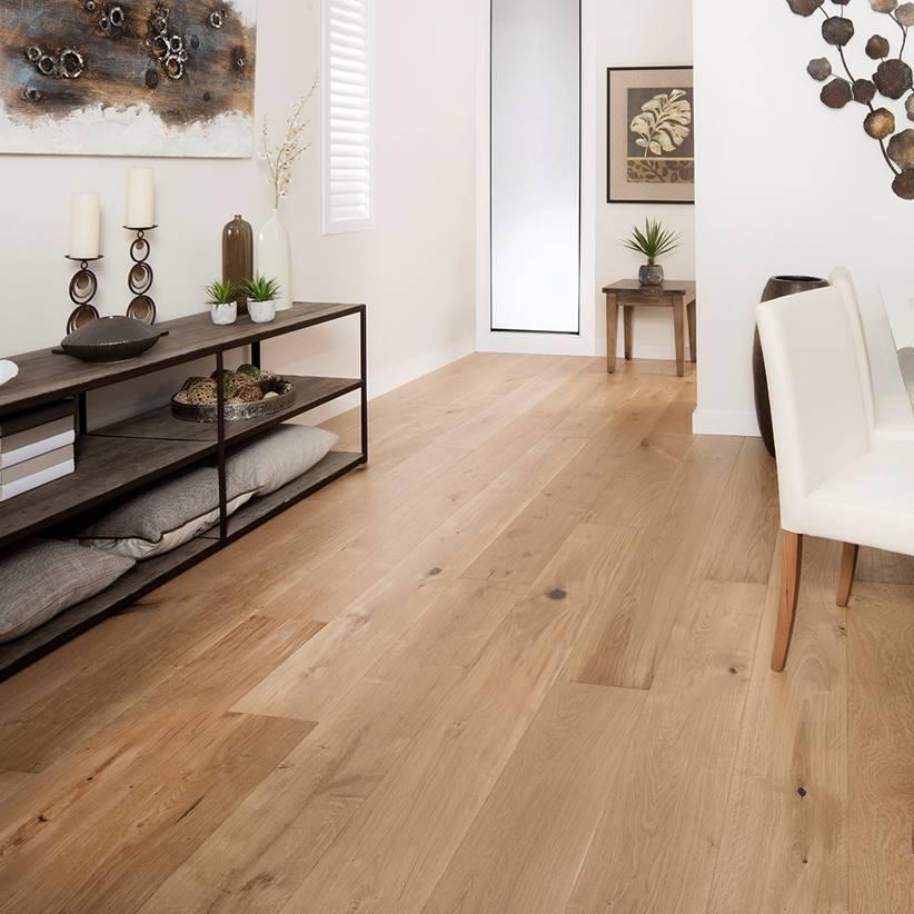 HARU Natural Oak - European Oak Engineered Floorboards - Extra-Wide 2200mm x 220mm x 20mm