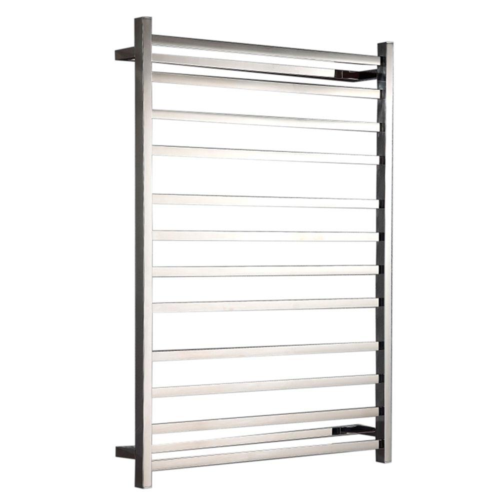 Hotwire - Heated Towel Rail - Square Bar 304 SS (W800mm x H1150mm)