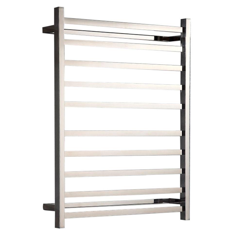 Hotwire - Heated Towel Rail - Square Bar (W700mm x H900mm)