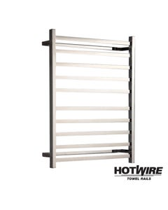 Heated towel rail - Hotwire - Square Tube - Easy Installation 120W