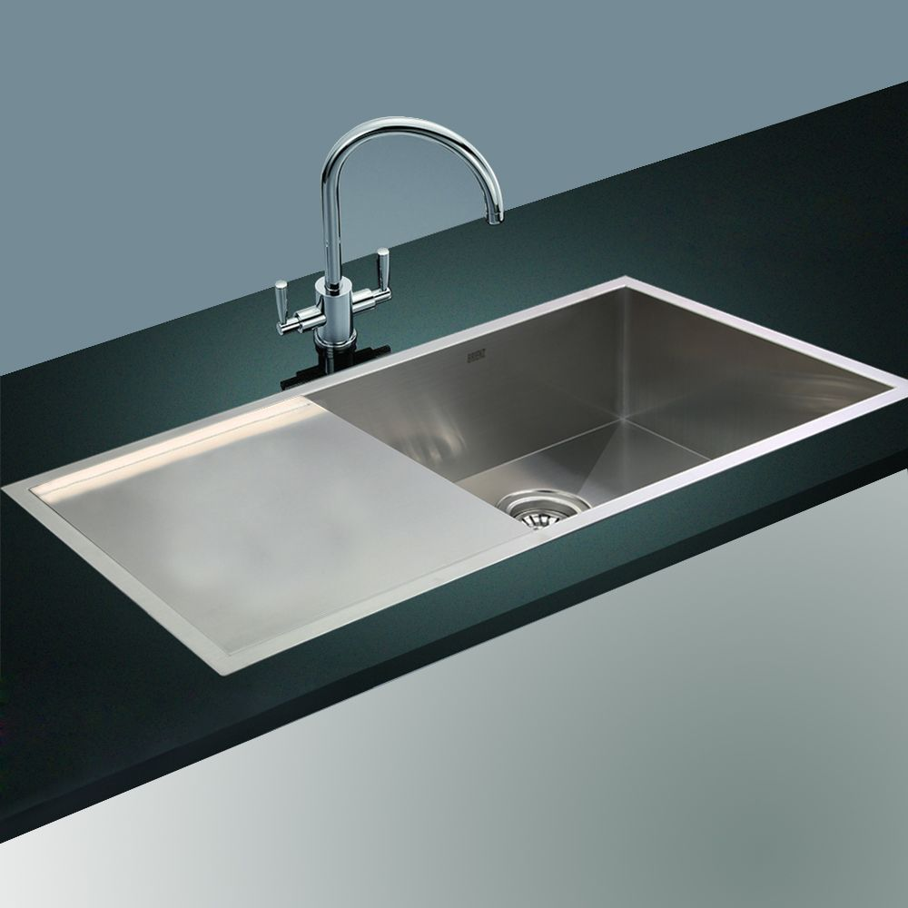 kitchen sink top mounted
