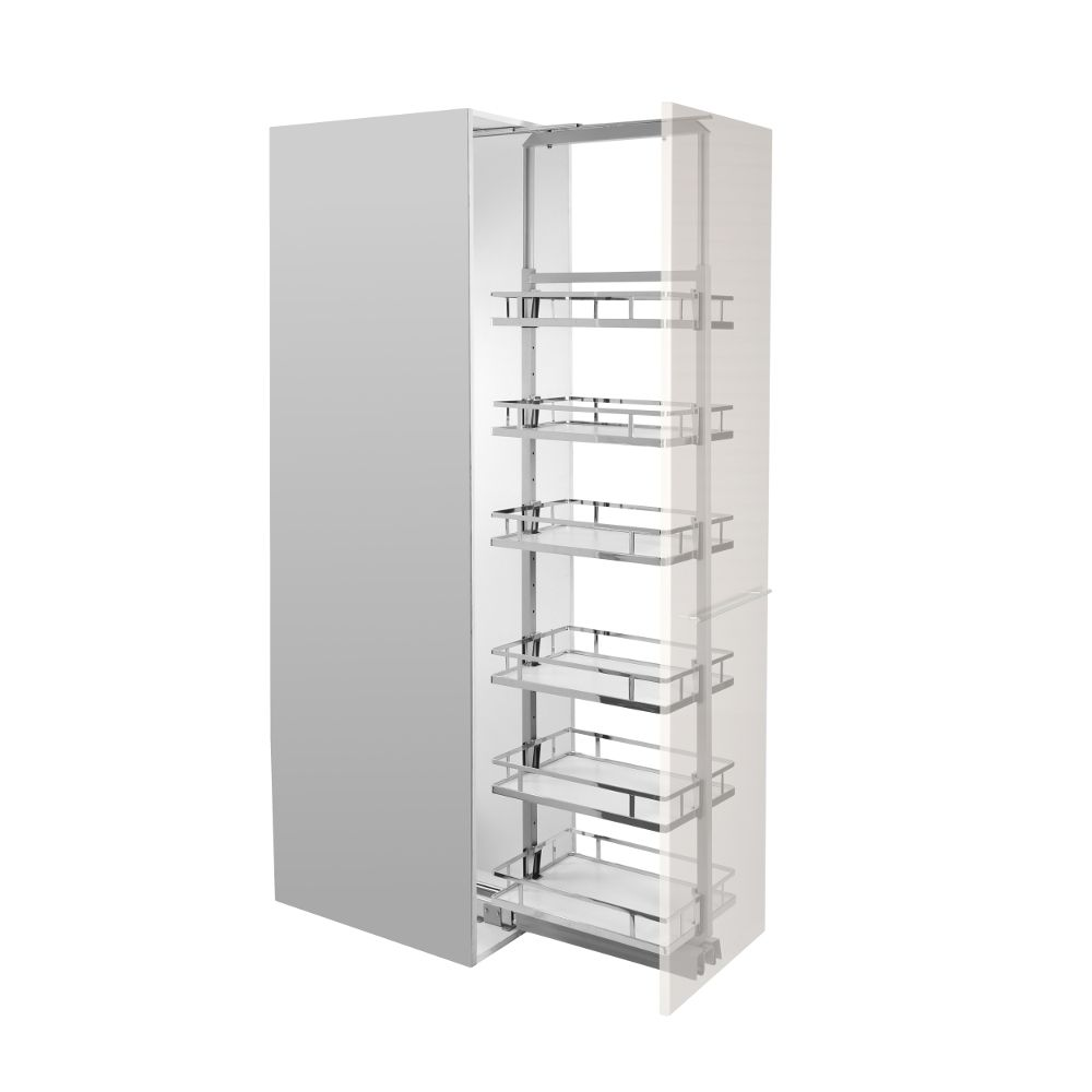Pull Out Pantry Soft Close Unit Adjustable Height Internal Unit