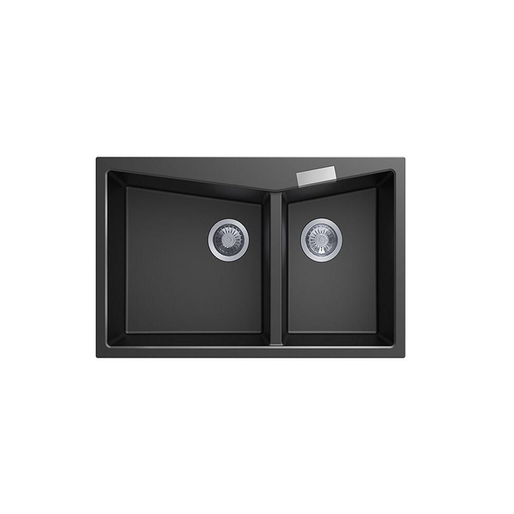 Carysil CGDB Granite Kitchen Sink - 800 x 500mm Double Bowl