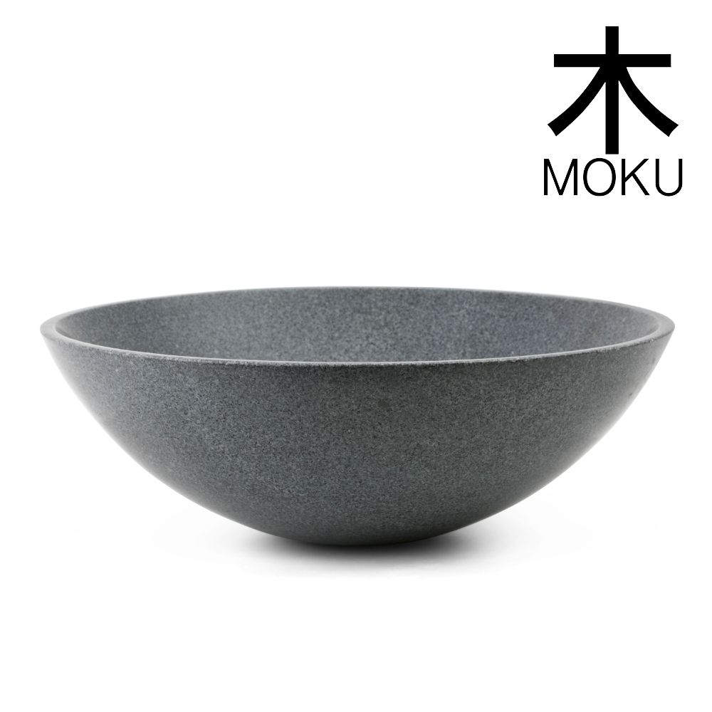 Superb Bathroom Sink Above Counter #4: Moku-grey-stone-round-deep-basin-white-background-branded.jpg