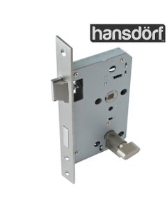mortice lock with privacy thumb latch
