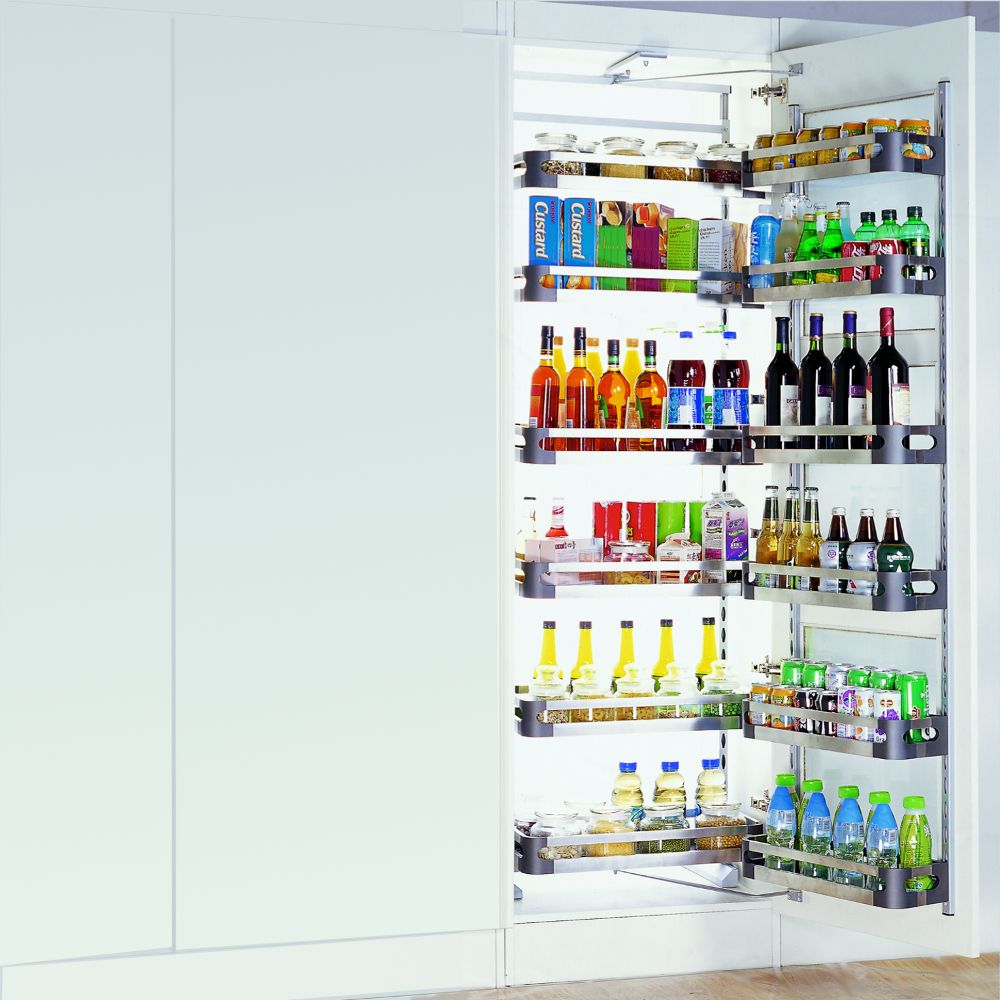 Open Out Kitchen Pantry Internal Unit Adjustable Height