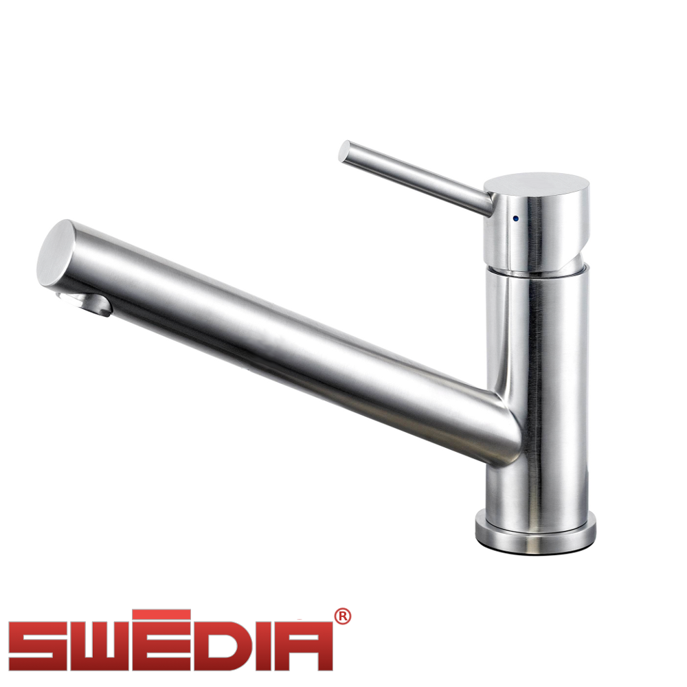 Kitchen Sink Mixer ~ Oskar stainless steel kitchen sink mixer optional pull
