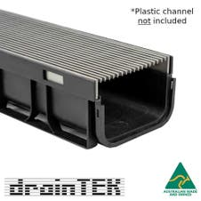outdoor wedge wire insert on reln plastic drain