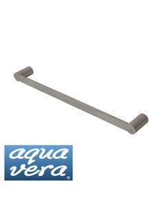 Pearl polished 620mm single towel rail - stainless steel latest designer bathware